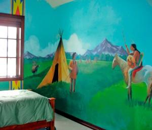 Indian Mural, Colorado