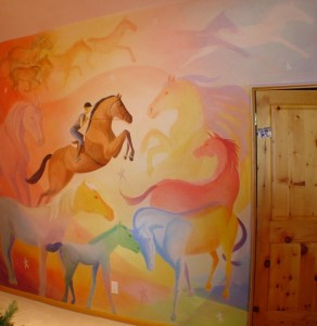 Horse Mural, Carbondale, CO