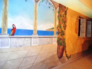 Mediterranean Mural, Blue Lake, CO