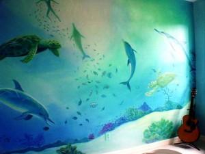 Underwater Mural I, Florida