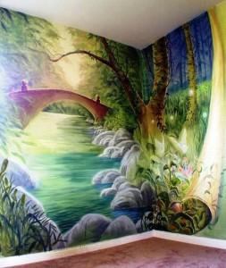 Fantasy Mural, Bethesda, MD