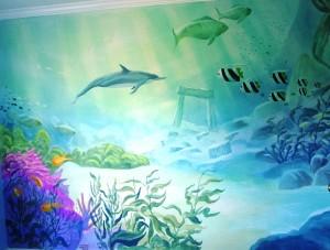 Underwater Mural III, Florida
