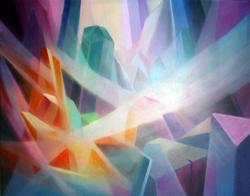 "Crystal Imagination, 29.5"" x 40"""