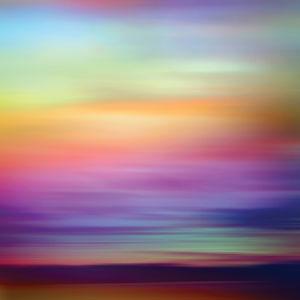 "Sunset, 30"" x 30"""