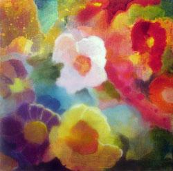 "Solstice Blossom, 10"" x 10"""
