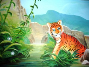 Little Tiger Mural, Carbondale, CO